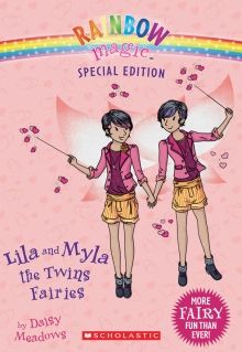 Rainbow Magic Special Edition: Lila and Myla the Twins Fairies by Daisy Meadows