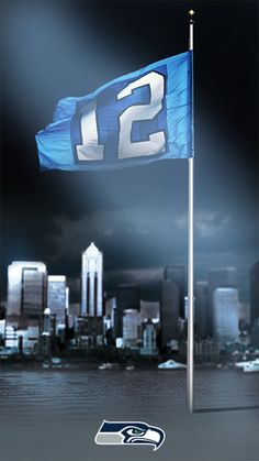 If you're a Seattle Seahawks fan, shout it loud with this smartphone wallpaper and follow the Seahawks this season with #NFL Mobile from #Verizon. #Football