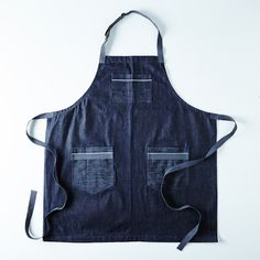 Hedley & Bennett Selvage Chambray Apron on Food52