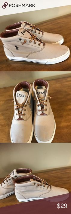 Men's Polo Ralph Lauren sneakers size 12 Polo sneakers. Excellent condition. Worn only one time. Polo by Ralph Lauren Shoes Sneakers