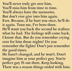 40 Best Quotes About Moving On From A Guy Images Words Thinking