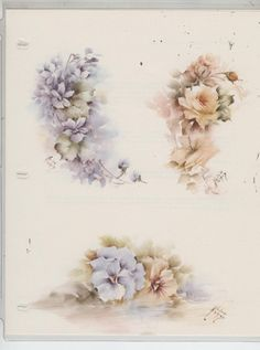 Variety Sheet #53 by Helen Humes China Painting Study