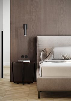"Simplicity is definitely key for bedroom interior design projects ""White, Gold & Classic Interior Design Project You'll Love"" Scandinavian Interior Design, Luxury Interior Design, Scandinavian Bedroom, Interior Colors, Luxury Home Decor, Cheap Home Decor, Decoration Inspiration, Decor Ideas, Classic Interior"