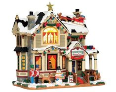lemax village collection christmas home tour 55932 - Best Christmas Village Sets