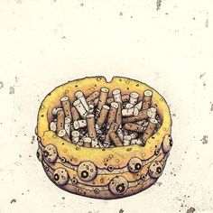 山本拳志的插畫 YAMAMOTO TAKASHI - ㄇㄞˋ點子靈感創意誌