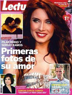 Las portadas de las revistas del corazón de esta semana: El beso de Sergio Ramos y Pilar Rubio en Lecturas