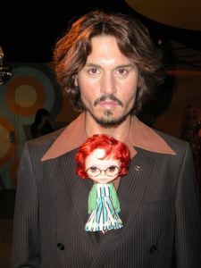 Blythe with Johnny Depp!!