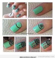 Resultado de imagen para diseños de navidad faciles para uñas