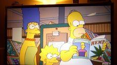 I Simpson e la Marijuana. http://viceitaly.tumblr.com http://blognonsolocalcio.com
