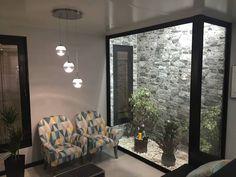 Minimalist living room pictures by KITUR Interior Garden, Home Interior Design, Interior Architecture, Interior And Exterior, Indoor Courtyard, Internal Courtyard, Inside Garden, Living Room Pictures, Minimalist Living