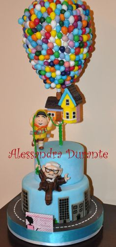 Pixar's Up Cake