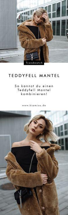 Der Teddyfell Mantel: Shoppen, Stylen & Wohlfühlen! Worth the hype: Diese Trendsetter tragen jetzt Teddyfell Mantel