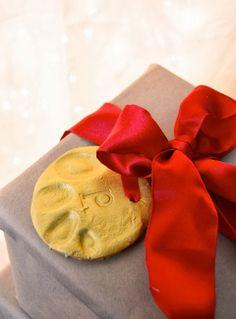 Handmade Holidays // Cornstarch Clay Ornaments by Meg Padgett from Revamp Homegoods