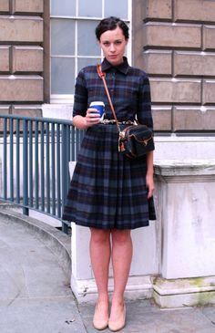 perfect plaid dress