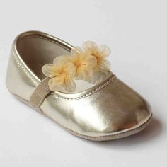Cream Baby Girl Darling Patent Ballerina Shoes 0-6m Size 1//2