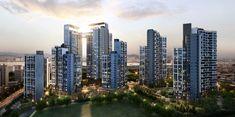 Seattle Skyline, New York Skyline, Futuristic Home, North Beach, Facade Architecture, Urban Planning, South Korea, San Francisco Skyline, Dubai
