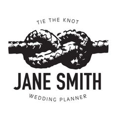 Wedding planner logo.