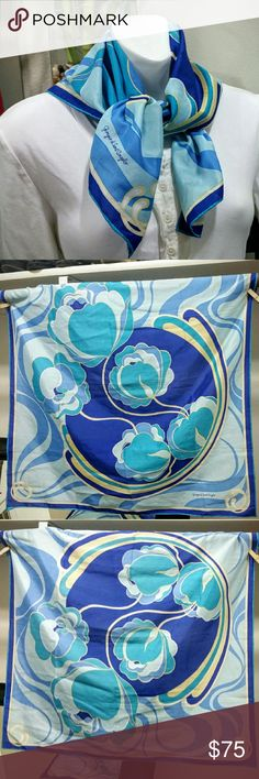 Rare scarf by Giorgio di sant'angelo CONDITION: Like New! --- CONCERNS: minor signs of wear.  --- I will provide more pics, materials, measurements, etc. upon request! --- ***I welcome ALL OFFERS and do bundle discounts!*** Giorgio di sant'angelo  Accessories Scarves & Wraps