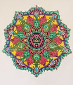 ColorIt Mandalas Volume 2 Colorist: Jackie Foote #adultcoloring #coloringforadults #mandalas #mandalastocolor