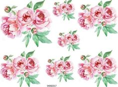 MoRe-STuNNinG-PinK-PeoNieS-SHaBbY-WaTerSLiDe-DeCALs