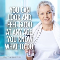 Looking good starts from within... foods straight from nature and regular exercise!