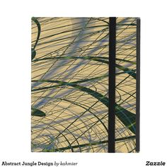 Abstract Jungle Design iPad Case #ZazzleMade