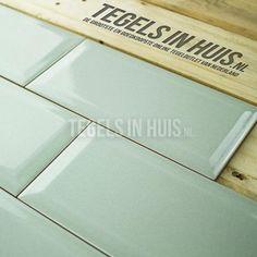 Wandtegel metro 10x20 Craquele Sage groen - Artikelcode: TOZCW155. - Nu in de aanbieding voor slechts € 28,75 p/m2 incl. BTW bij Tegels in Huis.nl