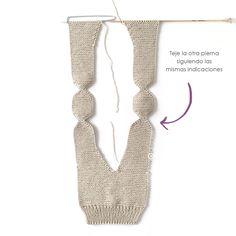 Polaina de punto NUR – Tutorial y Patrón – – Knitting patterns, knitting designs, knitting for beginners. Baby Leggings Pattern, Baby Sweater Knitting Pattern, Knit Leggings, Baby Knitting Patterns, Knitting Stitches, Baby Patterns, Free Knitting, Vintage Knitting, Gestrickte Booties