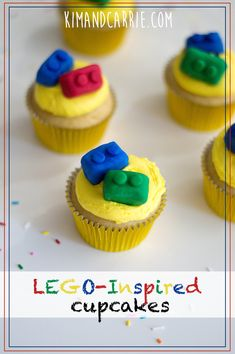 This recipe shows you how to make edible Legos which kids will love! You won't believe the secret ingredient underneath the colorful icing! Superhero Birthday Cake, Lego Birthday Party, Star Wars Birthday, Star Wars Party, Birthday Parties, Birthday Cakes, Lego Cupcakes, Lego Cake, Mini Cupcakes