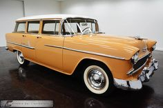 1955 Chevrolet Bel Air Four Door Station Wagon