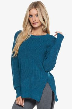 Sorrel Sweater in Emerald