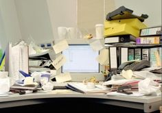 Why having a messy desk can show positive work traits