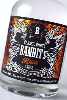 43'oz - Design Studio - Bandit Authentic Caribbean rum — World Packaging Design Society / 世界包裝設計社會 / Sociedad Mundial de Diseño de Empaques