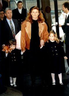 The Duchess of York, Bea & Eugenie - 1994