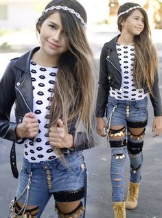 Teen clothing brands tween girl stores for clothes teenage girl fashion sho Fashion Kids, Young Fashion, Little Girl Fashion, Fashion 101, Fashion Shops, Teen Clothing Brands, Kids Clothing Rack, Tween Clothing, Popular Clothing