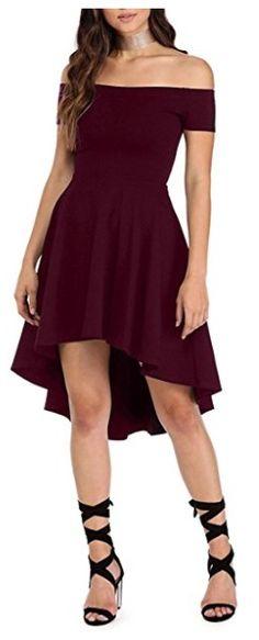 vestido enterizo corto color vino