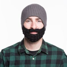 3366a9d0b3f Dark Gray Beardo® (Black Beard)