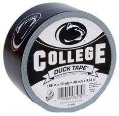 nice Duck College Logo Duct Tape High Performance 10 Yd. Penn State University