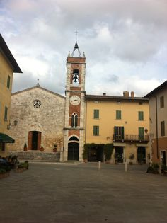 #BorghiToscana. San Quirico d'Orcia., province of Siena Tuscany