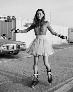 On a roll: A visual history of roller skates in fashion | LOVE