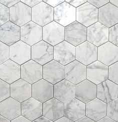 Bianco Carrara 3 Polished Hexagon MarbleTiles traditionelle Bodenfliesen Source by nxvalencia Brick Tiles, Marble Tiles, Carrara Marble, Marble Floor, Tiles Uk, Hex Tile, Bathroom Floor Tiles, Tiles For Bathrooms, Vinyl Flooring Bathroom