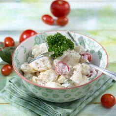 Kartoffel-Bohnensalat