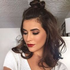 It's makeup Monday! Here's some inspiration for an edgy chic look. ❤️ I used…