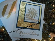 RemARKable Best of Stampin UP Blog Tour - Best of Snow