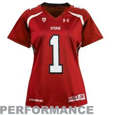 62ca93851 Under Armour Utah Utes Womens Replica Master Performance Jersey - Crimson  University Of Utah