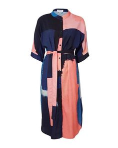 Lubna Dress Capsule Wardrobe, Looks Great, Duster Coat, Dresses For Work, Summer, Jackets, How To Wear, Collection, Style