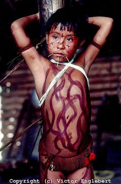 Yanomami Children