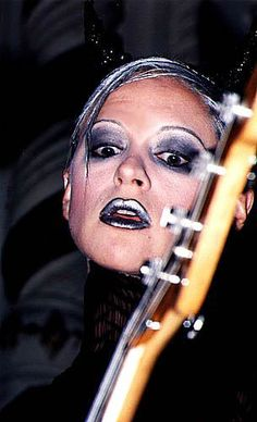 D'arcy Wretzky; Bassist for Smashing Pumpkins was hot in their heyday but then she went overboard with plastic surgery her life tumbled downhill