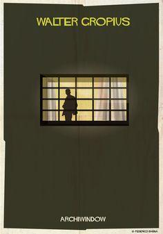 """ARCHIWINDOW: espiando pelos """"olhos da arquitetura"""",© Federico Babina"""