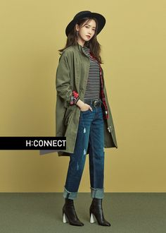 Yoona was transformed into a Fall goddess for the 2016 F/W fashion brand HI Connect, looking youthful and refreshing. With her next drama which also stars Ji Chang Wook not beginn… Fashion 2020, Fashion Brand, Airport Fashion, Kpop Fashion, Cool Girl, My Girl, Yoona Snsd, Rosacea, Korean Actresses